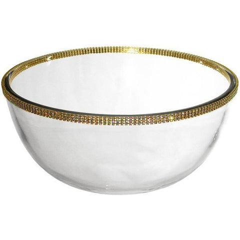 "ALC Princess Collection 11"" Fruit / Salad Glass Bowl"