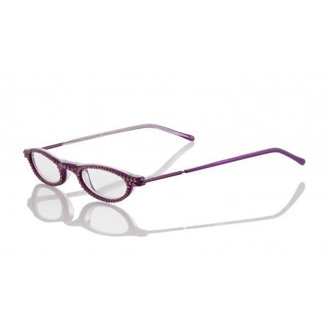 Designer Swarovski Crystal Lilita Readers - Purple