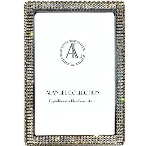 ALC Princess Collection 4 x 6 Encrusted Picture Frame