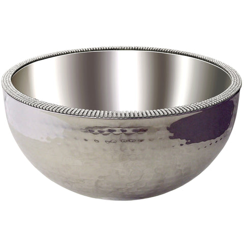 "ALC Princess Collection 8"" Dual Angle Hammered Bowl"