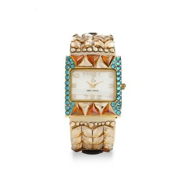 Designer Swarovski Crystal Exotic Watch