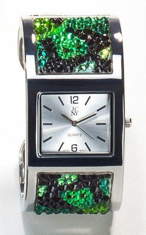 Designer Swarovski Crystal Jungle Watch