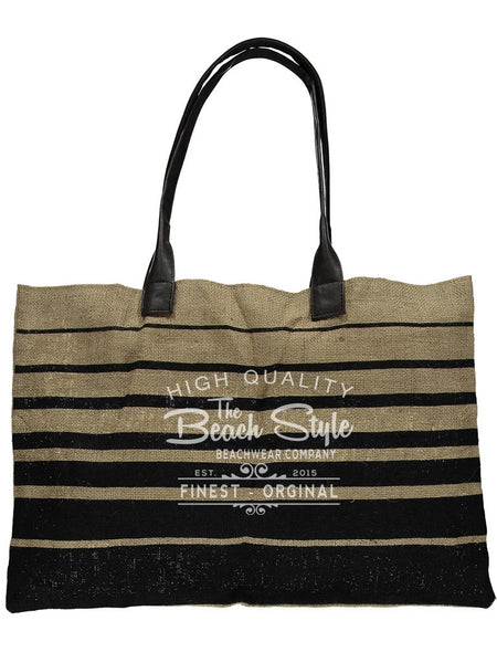 Passenger Jute Tote Beach Bag