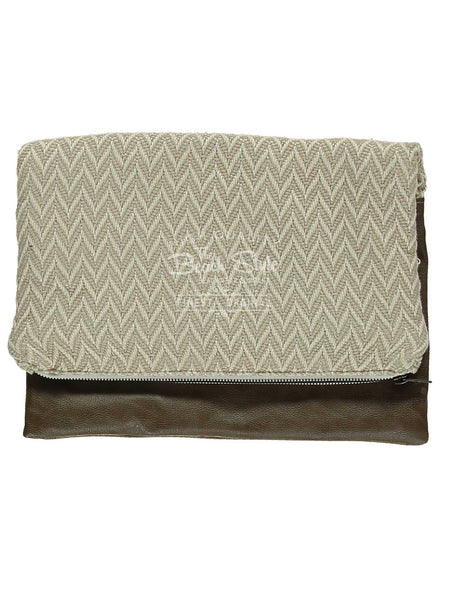 Janvier Leather Fall Clutch