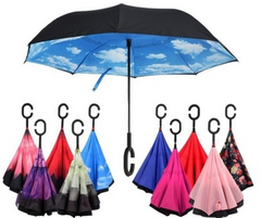 Reverse / Inverted Umbrellas