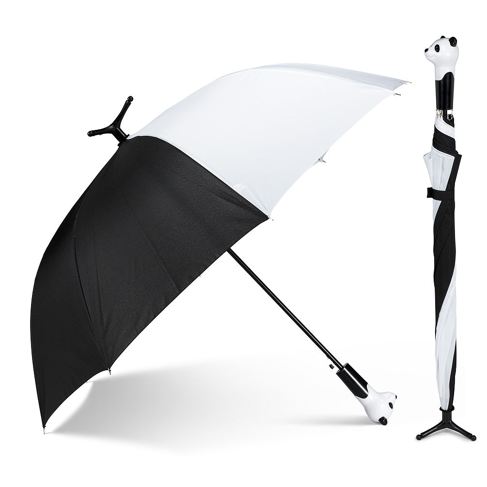 Abbott Panda Head Stick Umbrella