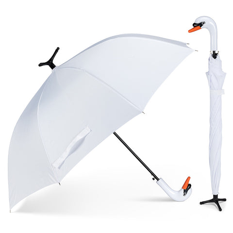 Abbott Swan Stick Umbrella