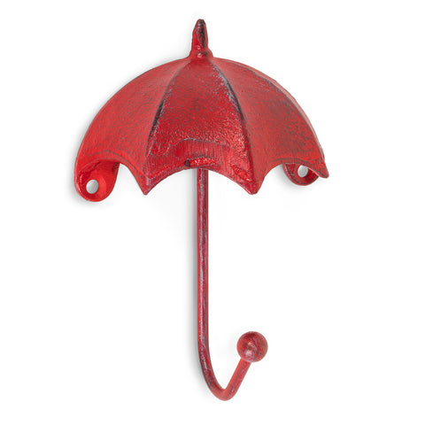 Abbott Umbrella Wall Hook Antique Red