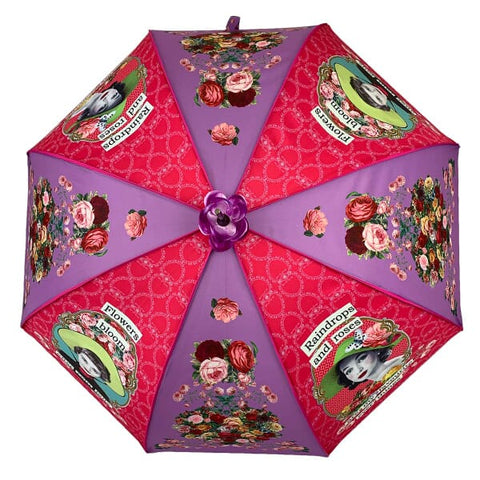 Soake Darling Divas Raindrops and Roses Boutique Umbrella