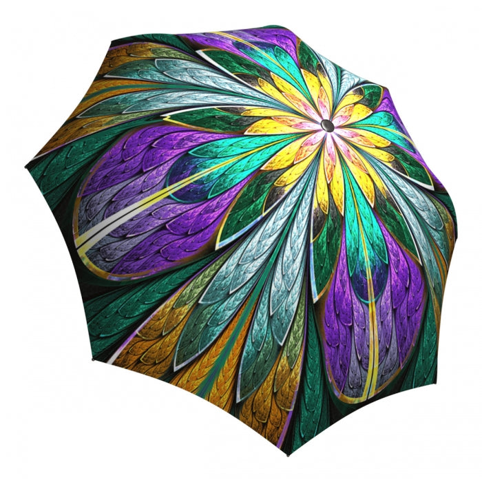La Bella Kaleidoscope Stained Glass Automatic Umbrella