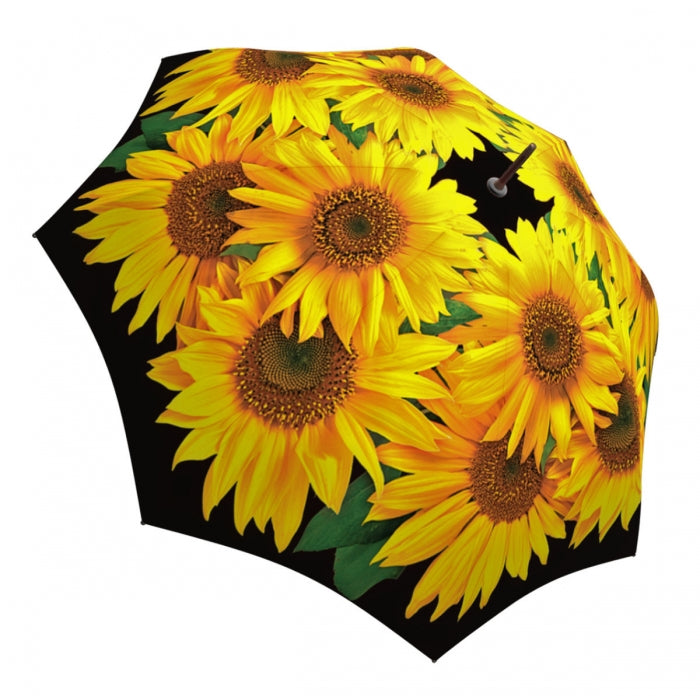 La Bella Sunflower Stick Umbrella