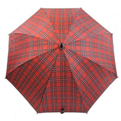 Splash Red Tartan Golf