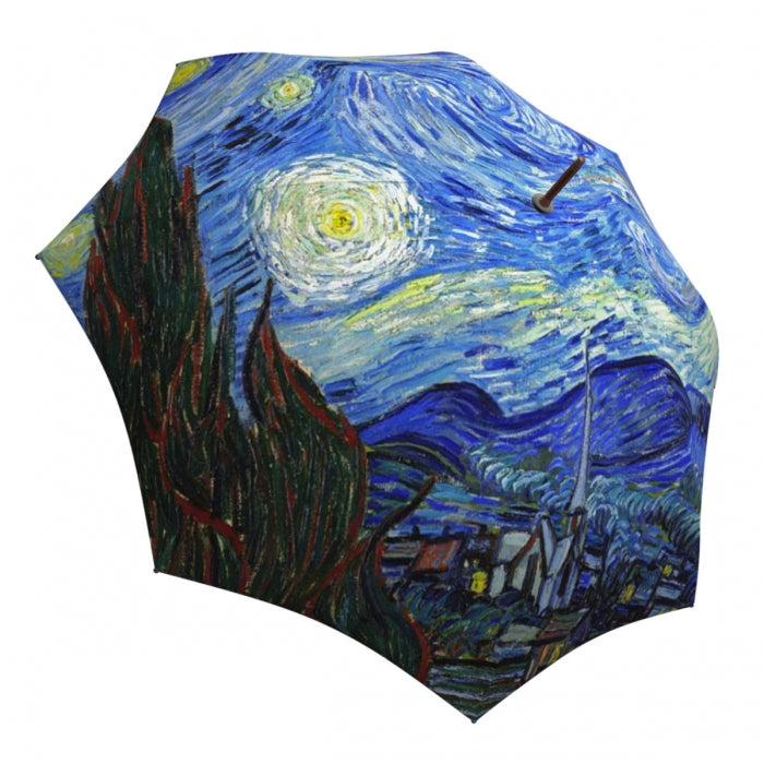 La Bella Van Gogh Starry Night Stick Umbrella