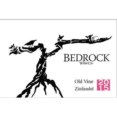 #5 Bedrock Wine Co Old Vine Zinfandel 2015