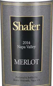 #10 Shafer Merlot Napa Valley 2014