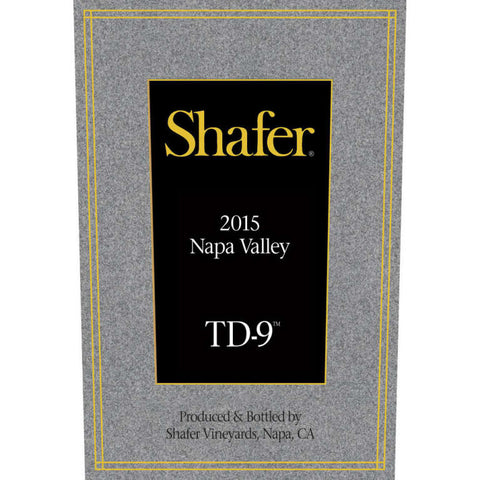 #6 Shafer TD-9 Napa Valley 2015