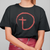 Designs by MyUtopia Shout Out:Abstract Cross Circle Adult Unisex T-Shirt