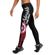 Load image into Gallery viewer, Designs by MyUtopia Shout Out:Adorable Deplorable Trump 2020 Yoga Leggings