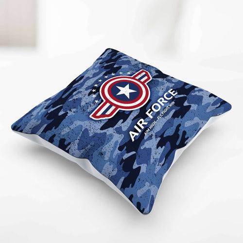 Designs by MyUtopia Shout Out:Air Force Wings Pillowcase