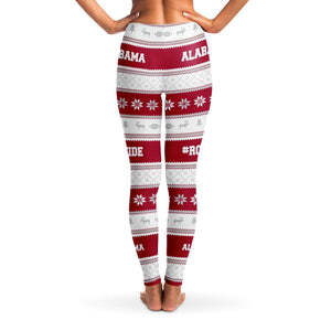 Designs by MyUtopia Shout Out:Alabama #RollTide Fashion Leggings