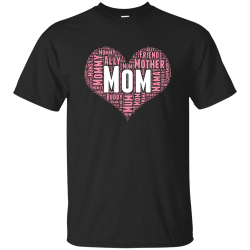 Designs by MyUtopia Shout Out:All the Ways Mom is Special in Your Heart Ultra Cotton Unisex T-Shirt,Black / S,Adult Unisex T-Shirt