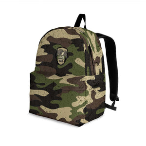 Designs by MyUtopia Shout Out:Army Dad Camouflage Backpack