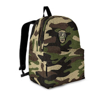 Load image into Gallery viewer, Designs by MyUtopia Shout Out:Army Dad Camouflage Backpack
