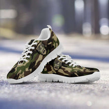 Load image into Gallery viewer, Designs by MyUtopia Shout Out:Army Mom Camouflage Running Shoes