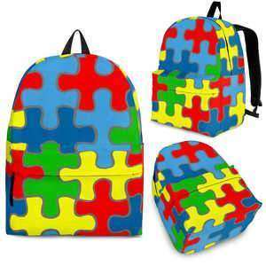 Designs by MyUtopia Shout Out:Autism Awareness Backpack