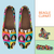 Designs by MyUtopia Shout Out:Beagle Clipart Casual Canvas Slip on Shoes Women's Flats (D),US6 (EU36) / Multicolor,Slip on Flats