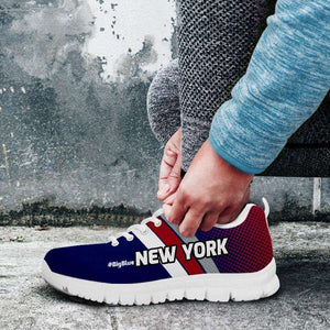Designs by MyUtopia Shout Out:#BigBlue New York Fan Running Shoes v2