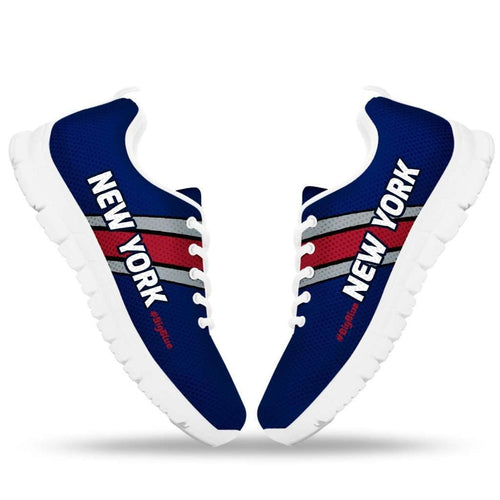 Designs by MyUtopia Shout Out:#BigBlue New York Fan Running Shoes