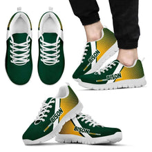 Load image into Gallery viewer, Designs by MyUtopia Shout Out:#BISONPRIDE North Dakota Fan Running Shoes