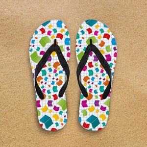 Designs by MyUtopia Shout Out:Books Flip-Flops