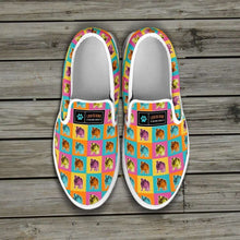 Load image into Gallery viewer, Designs by MyUtopia Shout Out:Bulldog Slip-on Shoes