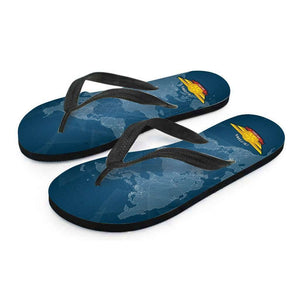Designs by MyUtopia Shout Out:California Air Force Wings Flip-Flops