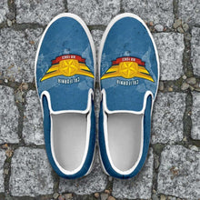 Load image into Gallery viewer, Designs by MyUtopia Shout Out:California Air Force Wings Slip-on Shoes