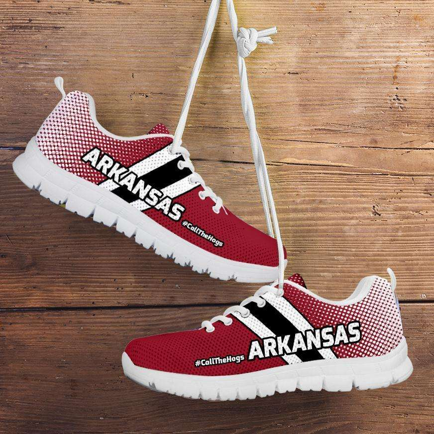 Designs by MyUtopia Shout Out:#CallTheHogs Arkansas Fan Running Shoes