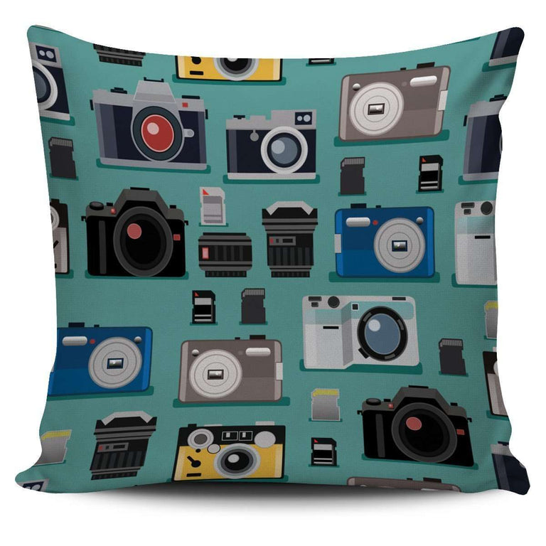 Designs by MyUtopia Shout Out:Camera Pillowcase