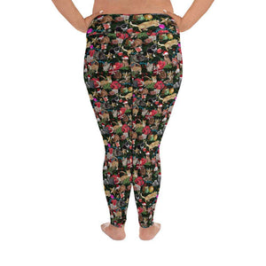 Designs by MyUtopia Shout Out:Cats Playing with Christmas Presents All-Over Print Plus Size Leggings