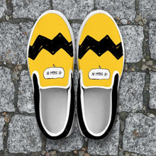Load image into Gallery viewer, Designs by MyUtopia Shout Out:Charlie Slip-on Shoes