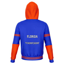 Load image into Gallery viewer, Designs by MyUtopia Shout Out:#ChompChomp Florida Fan Fashion Fleece Lined Pullover Hoodie