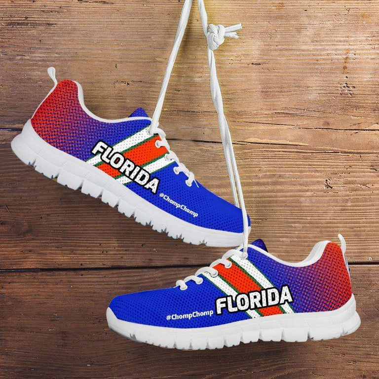 Designs by MyUtopia Shout Out:#ChompChomp Florida Fan Running Shoes