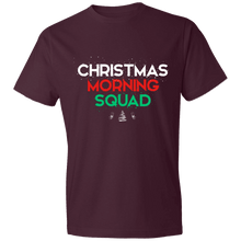 Load image into Gallery viewer, Designs by MyUtopia Shout Out:Christmas Morning Squad - Lightweight Unisex T-Shirt,Maroon / S,Adult Unisex T-Shirt