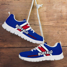 Load image into Gallery viewer, Designs by MyUtopia Shout Out:#CircleTheWagons Buffalo Fan Running Shoes