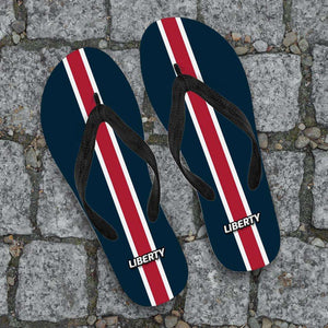 Designs by MyUtopia Shout Out:Collector Flip Flops Liberty