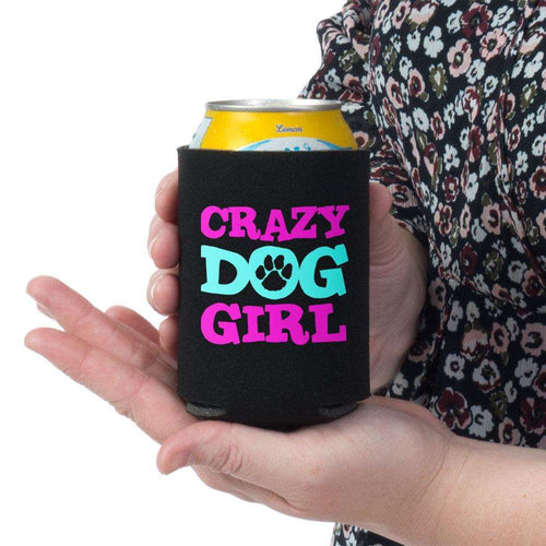 Designs by MyUtopia Shout Out:Crazy Dog Girl Neoprene Snuggle Can Wrap