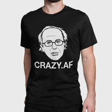 Load image into Gallery viewer, Designs by MyUtopia Shout Out:Crazy Sanders Trump Political Humor Unisex Jersey Short-Sleeve T-Shirt