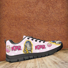Load image into Gallery viewer, Designs by MyUtopia Shout Out:Cute R2-D2 Droid on Pink Running Shoes