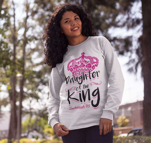 Designs by MyUtopia Shout Out:Daughter of the King Adult Unisex Sweatshirt